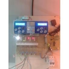 Controlador Electronico de 4 Mov. con Programador y GPS