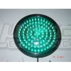 Optica de Led 200mm Verde